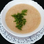 Zdrobova juha s korenčkom