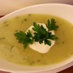 Kremna porova juha